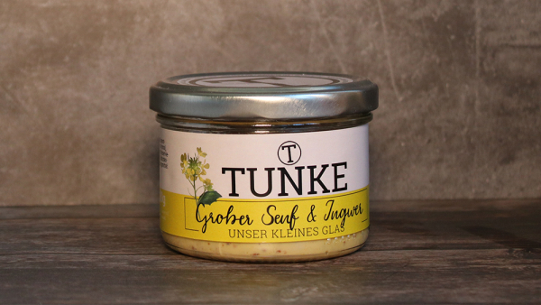 TUNKE | Grober Senf mit Ingwer