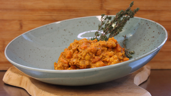 Linsen-Curry Eintopf - vegan